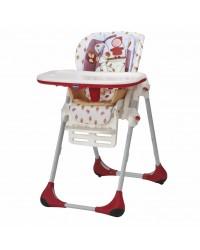 Jedálenská stolička Chicco Polly 2v1 New - Happy Land