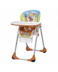 Jedálenská stolička Chicco Polly 2v1 New - Wood Friends