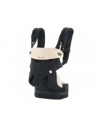 Ergobaby nosič Four Position 360° - Black/Camel