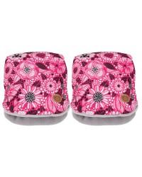 Gmini rukávnik na kočík Jemi - ružový