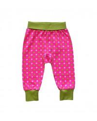 Pudlové nohavice Happy Babies - Ružové hviezdy