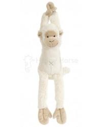 Hračka s melódiou HAPPY HORSE Smotanová Opička Mickey