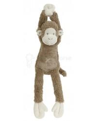 Hračka s melódiou HAPPY HORSE Hnedá Opička Mickey