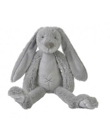 Plyšová hračka HAPPY HORSE Svetlo šedý zajko RICHIE