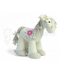 Plyšová hračka HAPPY HORSE Koník biely