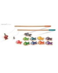 Janod Drevený magnetický rybolov pre deti