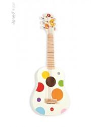 Janod Prvá gitara pre deti Confetti so reálnym zvukom
