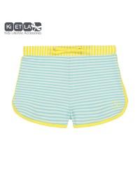 Kietla Plavky s UV ochranou - Šortky Zelený pásik
