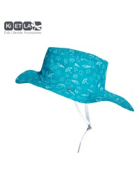 Obojstranný klobúčik Kietla s UV ochranou - Swimming Pool