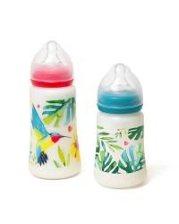 Sada dojčenských fliaš Tommy Lise Airy Grace 250ml + 360 ml