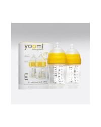 Dojčenská fľaša YOOMI 240ml - 2ks (bez ohrievača)