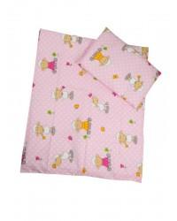 Obliečky Antony (ružové) - Ovečky