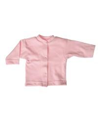 Bavlnený kabátik jednofarebný Antony - (ružový)