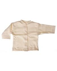Bavlnený kabátik jednofarebný Antony - (smotanový)