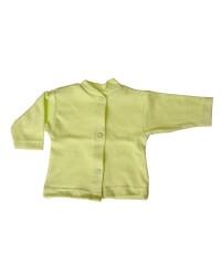 Bavlnený kabátik jednofarebný Antony - (zelený)