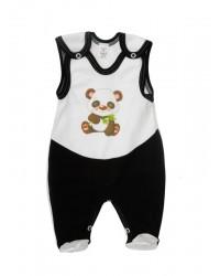 Dupačky Antony (bielo-čierne) - Panda