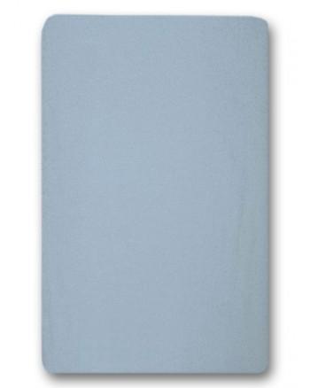 Nepremokavé prestieradlo Antony (modré) - 155g (gumené obšitie)