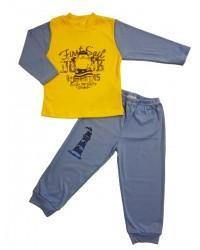Pyžamo Antony - hrošík - žlto-modré