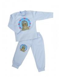 Pyžamo Antony - Psík - modré