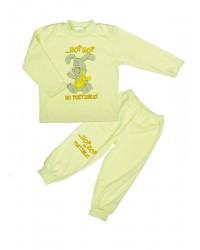 Pyžamo Antony Zajko - hop hop - zelené