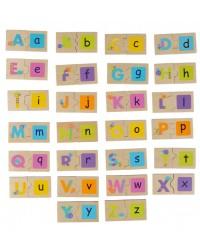 Obojstranné puzzle Boikido - Abeceda