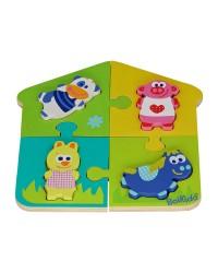 Dvoj-puzzle Boikido - Farma