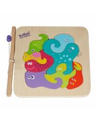 Puzzle s rybačkou 2v1 Boikido