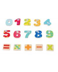 Magnetické čísla s matematickými znakmi (55ks) Boikido