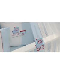 3-dielna posteľná súprava Funnababy - Train
