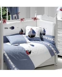 3-dielna posteľná súprava Funnababy - Marine