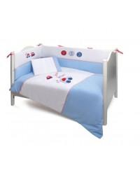 3-dielna posteľná súprava Funnababy - Baby Car