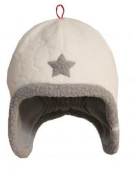 Čiapka Lodger Fleece Stars Off White 0-3m