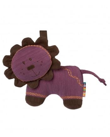Mäkká hračka Lev fialový Jumbles - Mamas&Papas