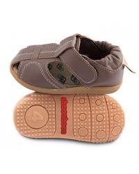 Kožené sandálky Shooshoos NEW - Peanut Butter