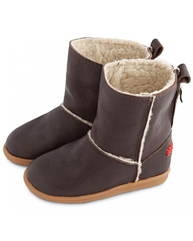 328cce75ef Kožené zimné čižmy Shooshoos - Ugg Boot eshop pre deti DADAAA.sk