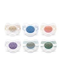 Cumlík Suavinex Premium Couture 4-18m fyziologický silikón
