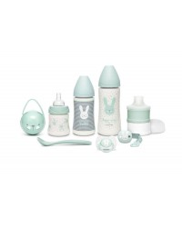 Suavinex HYGGE Zelený Novorodenecký set Premium
