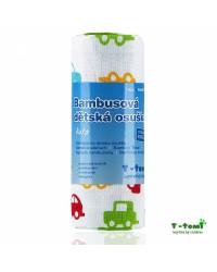 Bambusová osuška T-tomi - Autá