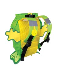 Nepremokavý ruksak Trunki - Žaba (zelený 7.5L)